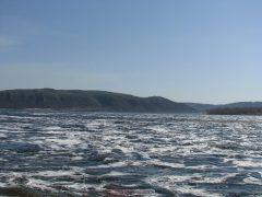 Сброс воды на ГЭС