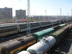 ЖД развязка в Тлт (станция Жигулёвское море)