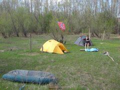 Лагерь и Вика