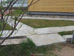 Понтовые бетонные дорожки