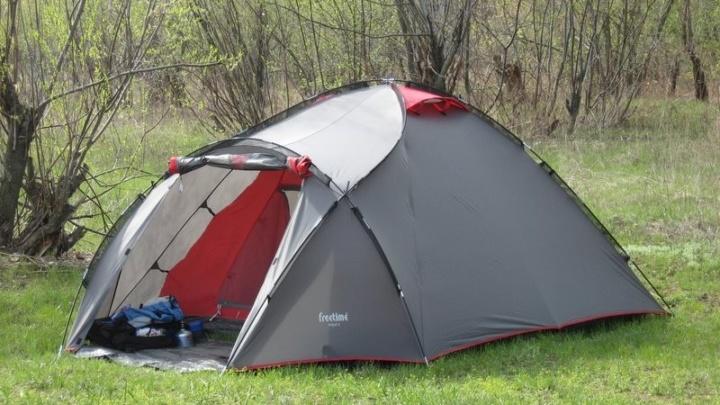 Небольшое продолжение о палатке Freetime Fidji 3