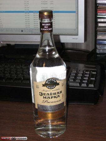 Фестивальная бутылка водки