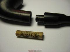 разобранная трубка и грязный фильтр (минздрав не зря предупреждает!)