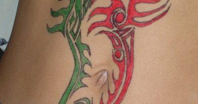 Набросок татуировки