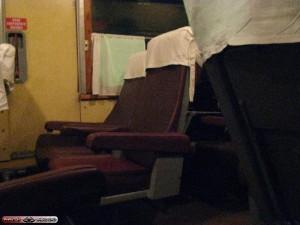 В этих креслах поедут задомнаперёд