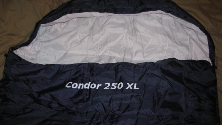 Спальный мешок Freetime Condor 250XL и немного теоретических выкладок