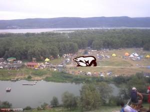 ПЖиВ оскверняет фестивальную поляну