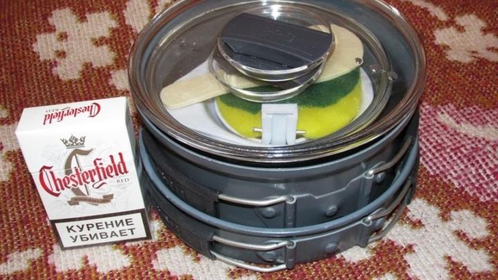 Набор посуды для горелок BRS-123