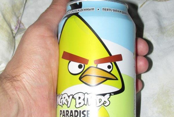 Газированный сок из птиц!