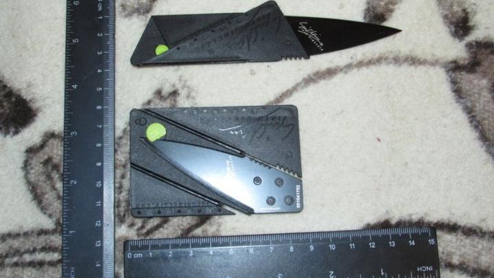 Нож-кредитка — обзор
