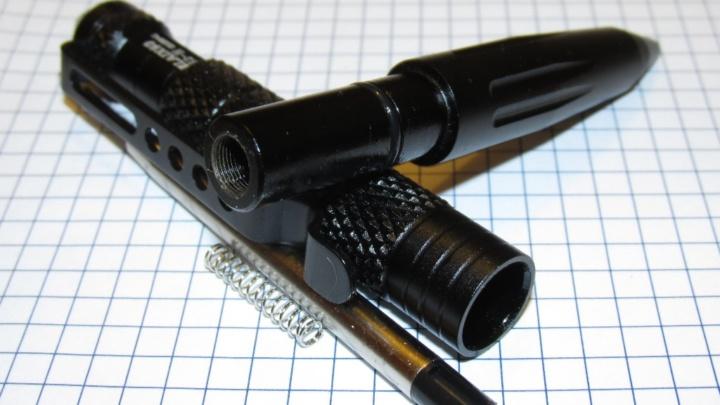 Self-defense tactical pen (no seriously!)
