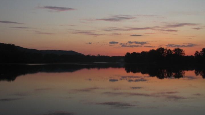 Закат, отражения, рыбалка…