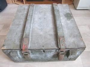 Деревянный ящик военного образца