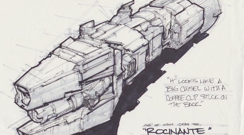 Spaceship Rocinante
