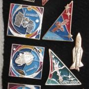 Значки космической тематики