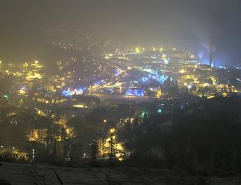 Красная Глинка с горы Тип-Тяв, 29.12.2016