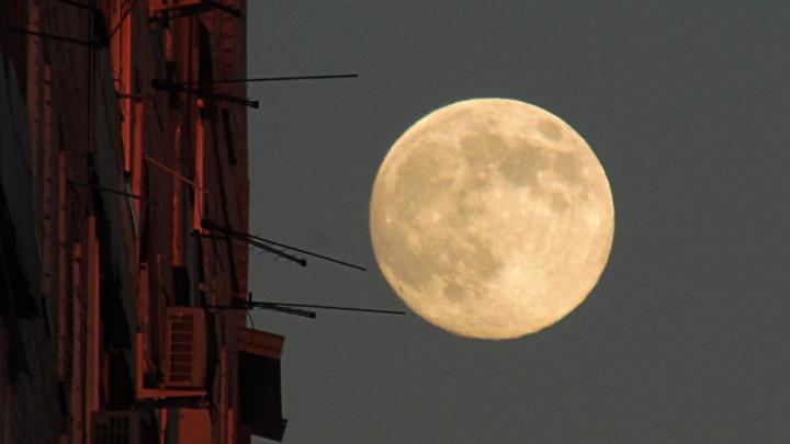 Луна и немного обработки