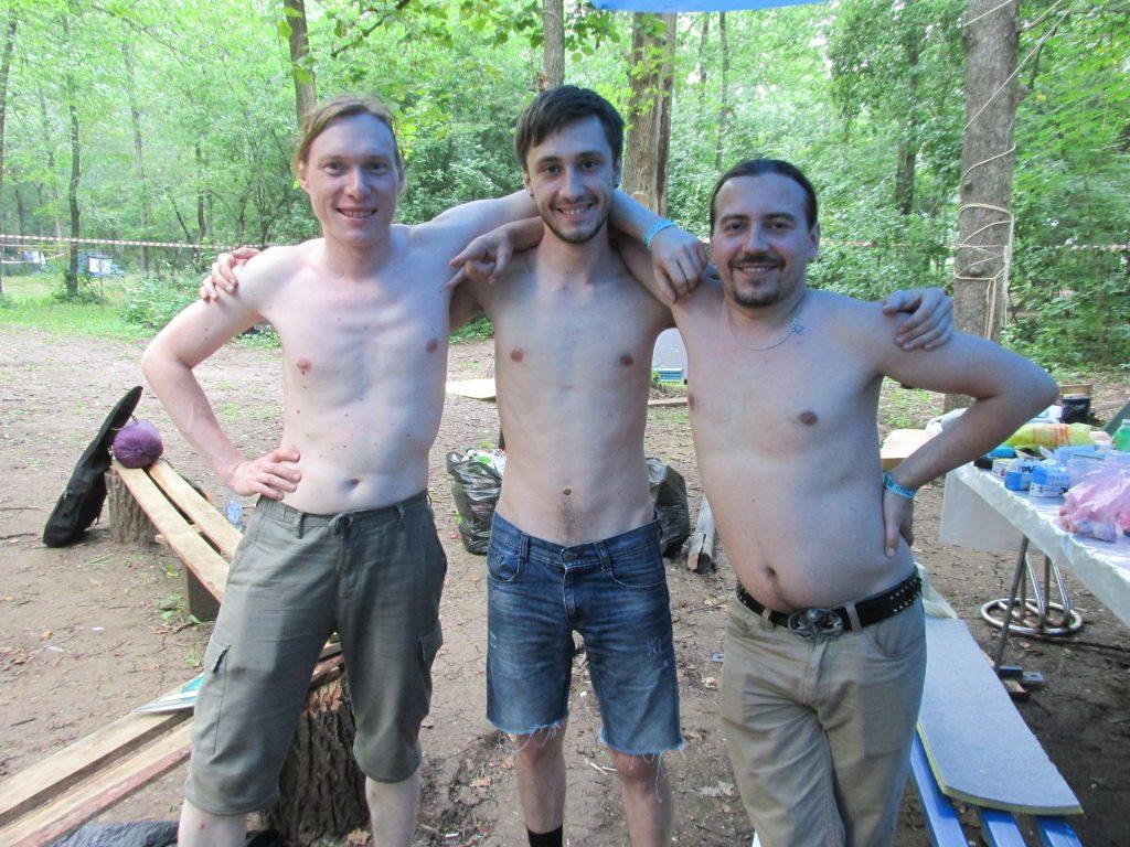 Коменданты: Николя, Влад, Фантом
