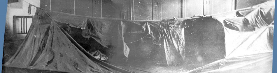Палатка группы Дятлова — разрезы и разрывы