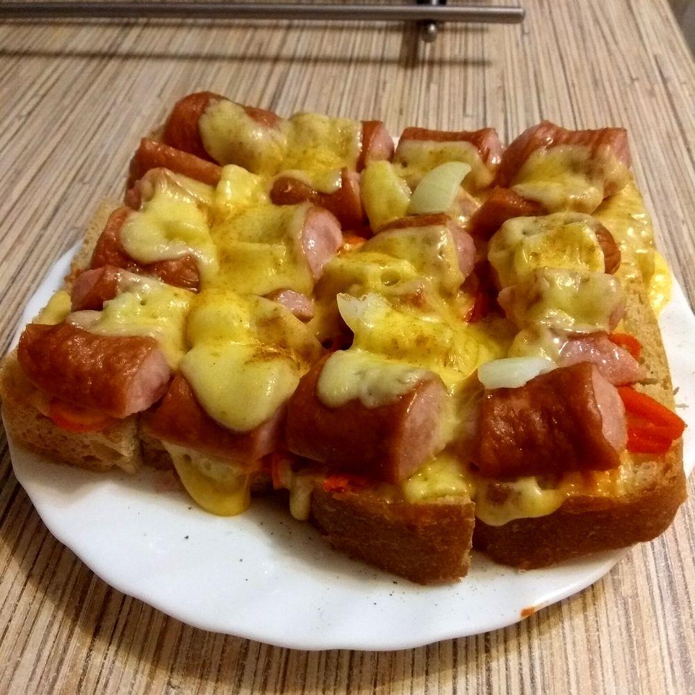 Фкусные горячие бутерброды