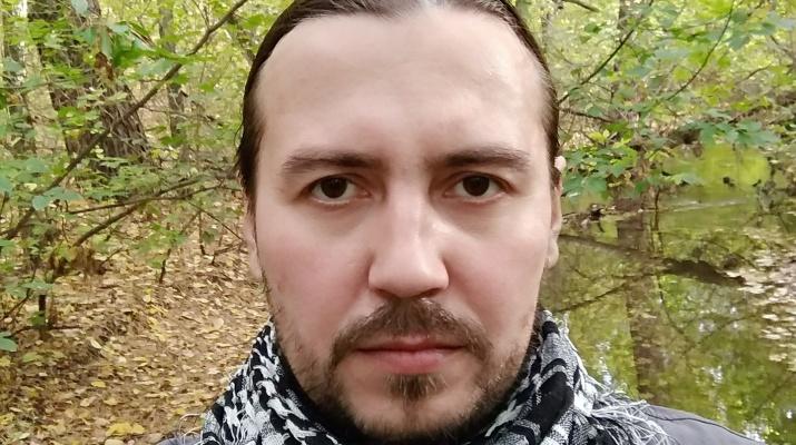 Йа в лесу