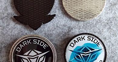 Новые значки лагеря Dark Side