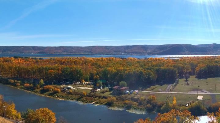Мастрюковские озёра — золотая осень