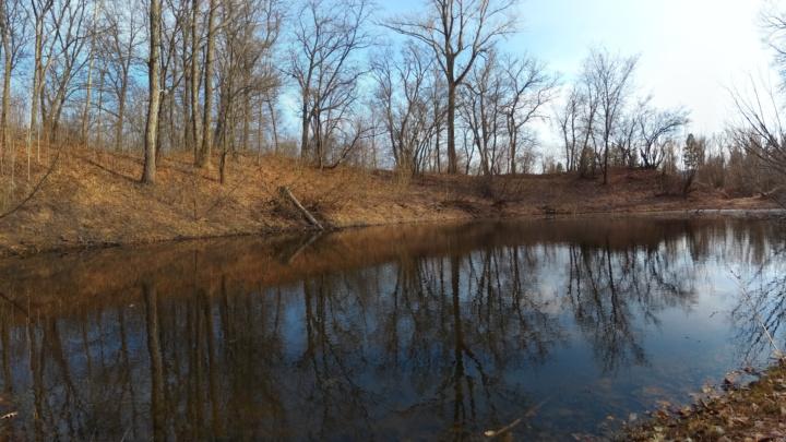 Весенняя покатушка на Мастрюковские озёра